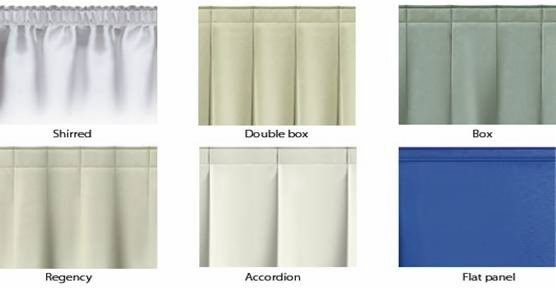 Customized Table Skirts For Sale with Accordion Pleats