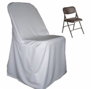 Polyester folding chair cover