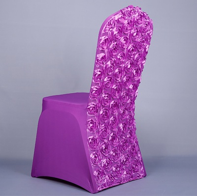 wedding rosette chair covers