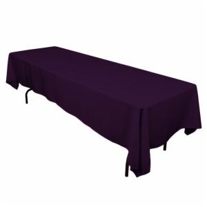 Rectangular Spun Polyester Tablecloth