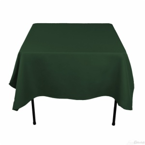 100% polyester square table cloth
