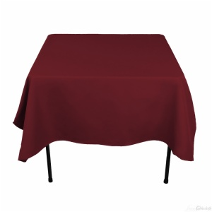 100% polyester cheap square table cloth