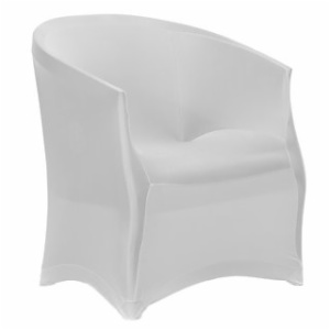 Spandex bistro chair seat covers armchair armrest covers
