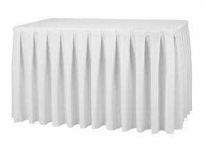 Box Pleats Table Skirting