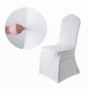 wholesale cheap white chair covers spandex