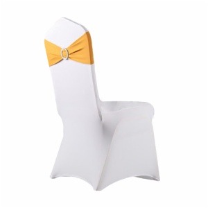 cheap spandex chair bow chair sashes for wedding banquet