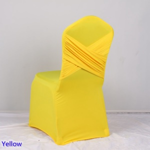 Spandex Chair Cover Cross Back