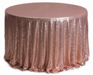 Fancy sequin tablecloth wedding for sale