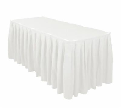 Polyester Shirred Table Skirting