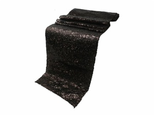 Hot Sale Fancy High Quality Rose Gold Sequin Table Runner for Wedding
