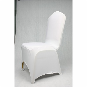 White factory spandex chair covers for sale