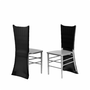 Wholesale luxury spandex party chair back covers slipcovers chairs covers events wedding housse de chaise