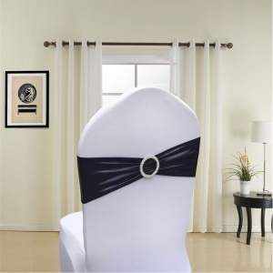 Wedding Spandex Chair Band sash Decoration