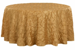Customized Pinchwheel Round Taffeta Tablecloth
