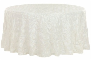 Round Taffeta Tablecloth