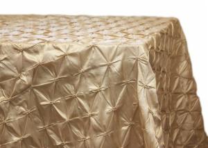 Customize Rectangular Pinchwheel Taffeta Tablecloth