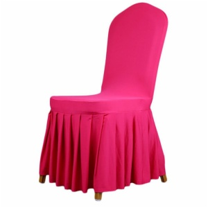 Pleated skirt patterns Elastic Chair covers