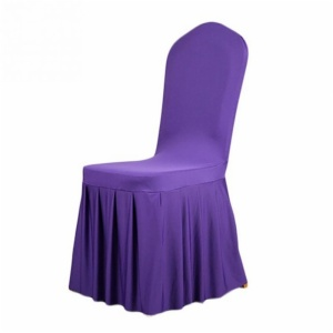 Pleated Spandex Wedding Chair Covers