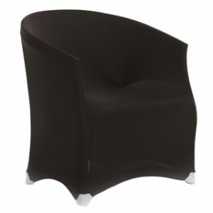 Spandex Chair Cover Armrests Bistro Chair Cover