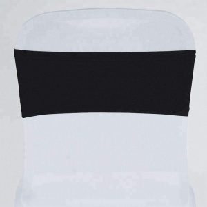 Wholesale universal and regular spandex/lycra chair cover band,wedding chair sash