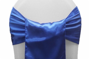 Wide Satin Chair Sashes (9x108)